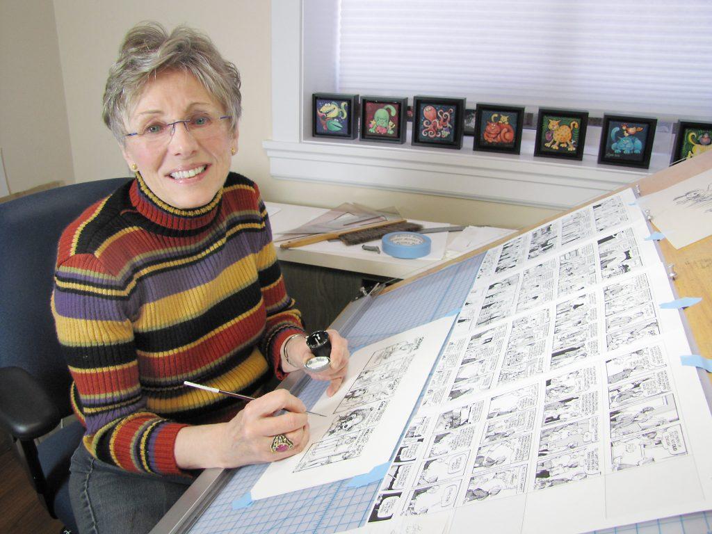 Image result for Lynn Johnson, cartoonist