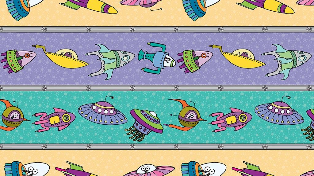 Spaceship Parade